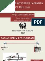 PPT Seminar Auliya Dafina
