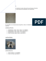 Acid Resistant Tiles Bricks