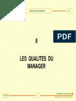 ME9qualités Du Manager