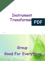 Instrument Transfoemers