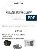 Connecting Batteries in Parallel