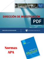 Normas bibliográficas para tesis