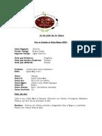 Letra Ile Ifa Adde Ifa Ire Odara 2009.[1]