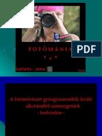Fotómánia 7 Oe