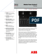 Dcs Modular Power Supply II Overview