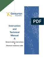 Centurion Tech Manual A