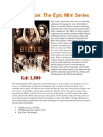 Bible DVDS and Audio CDs - May 2006