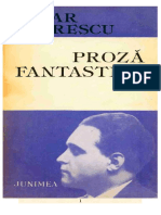 Cezar Petrescu - Proza fantastica.doc