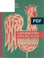 Grammont Hamon Grammaire Francaise Cm