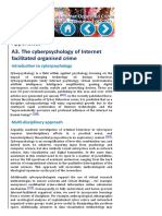 The Internet Organised Crime Threat Assessment (IOCTA) 2014 - EUROPOL - The Cyberpsychology of Internet