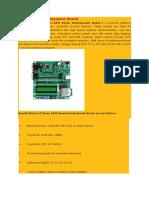 ARM Seven Development Board