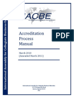 Accreditation Process Manual