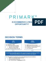 Primark Presentation