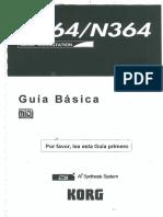 Korg N264 N364 Guia Basica