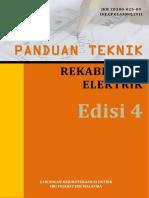 Dokumen Panduan Teknik Rekabentuk Elektrik Edisi 4
