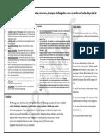 Assessment Feedback YR12 Media Evaluation Question 1
