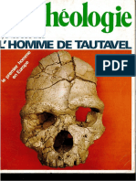 Dossiers d'Archeologie L'Homme de Tautavel-N36-1979