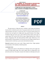 A new smart grid device for efficient active and reactive power control in hybrid power system