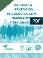 INMIGRANTES Y REFUGIADOS Guia Para La Intervencion Psicologica