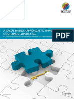 A Value Based Approach to Improve Customer Experience