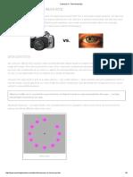Cameras vs Eyes