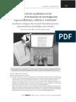 Escritura en los procesos de investigación