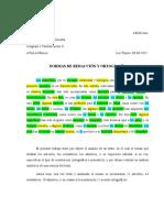 Normas de Redaccion y Ortofrafia