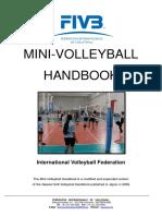 FIVB Mini Volleyball Handbook
