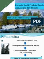 3. Metodologi Dan Prosedur Audit Produksi Bersih