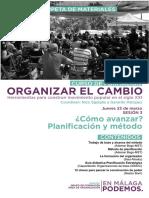 Carpeta Materiales Curso 'Organizar El Cambio' Sesion3