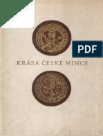 Bohemia) Nohejova-Pratova-Krasa Ceske Mince 1955