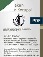 Penegakan Hukum Korupsi