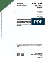 ISO 17025 PORTUGUES