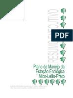 Plano Manejo ESEC Mico (Resumo Executivo)