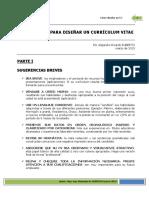 Diseño Curriculum Vitae