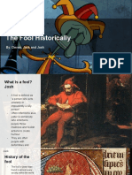research assignment- the fool historically