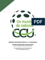 Estados Financieros CCU 2013