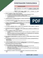 Autoevaluacion Investigacion Toxicologica 2016