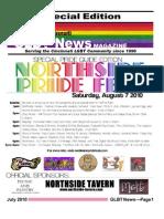 GLBT Northside PRIDE 062610 GLBT News