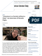 _Literature is a Society Without a State__ an Interview of Ricardo Piglia by Oriele Benavides _ Latin American Literature Today