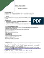 Fundamentação Da Ênfase IIB - Trabalho, Organizações e Gestão