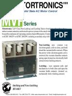 Motortronics 7.2kV Contactors