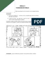 Actividades Para Niños y Niñas - Módulo 5 - Ciudadanía en Familia.