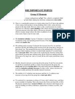 Nitrogen Family Study Notes