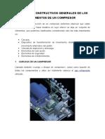 Aspectos Constructivos Generales de Los Elementos de Un Compresor