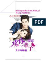 A Warm Wedding and a New Bride of Young Master Lu