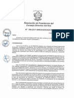 REsolución N°106-2017-SINEACE-CDAH-P