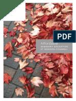 Affordability Brochure 2017