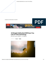 10 Simple Habits that Will Save You Lots of Time and Energy.pdf