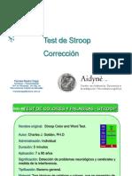 EVNPS -Correccion Test de Stroop